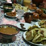Repas familial - rupture du jeûne