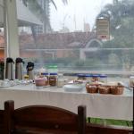 Café da manhã gostoso e completo!