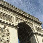 The Arc de Triomphe de l'Étoile is just steps away practically!