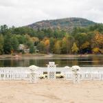 The Lodge on Echo Lake Beach Wedding Ceremony Location