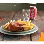 Nando's Quarter Chicken and Chips