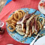 Fried and Grilled Calamari