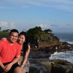 One of the photo taken by Gede at Tanah Lot Temple