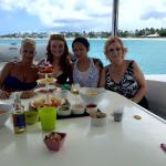 Snacks before lunch at Anguilla!