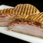 Turkey Bacon Panini for lunch