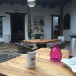 Area de estar para disfrutar de un buen cafe de Chiapas