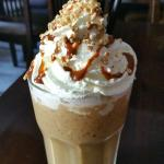 COOL DOWN WITH A CRUNCHY CARAMEL ICED COFFEE!