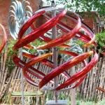 Mark White Kinetic Sculptures located at the K Newby Gallery & Sculpture Garden