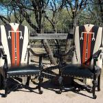 Old Hickory Tannery Furniture - Antiques of the Future - available at K Newby Gallery