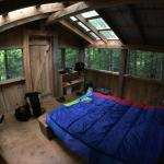 A look inside the Petawawa cabana.