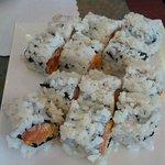 Spicy and Crispy Salmon Rolls