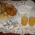 el desayuno ( de las veces que me aloje, siempre fue igual)