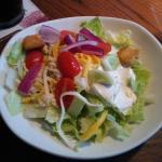 Salad is always fresh & good