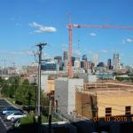 Great Denver skyline View from room 403