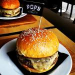 One of our delicious burgers