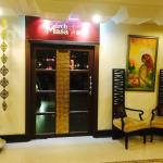 The entrance of Mirch Msala restaurant