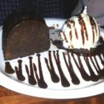 Chocolate Cake al la mode