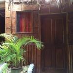 Entrance to the family villa