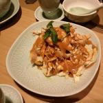 shredded chiken with sesame sauce