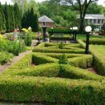 Belvedere Mansion knot gardens