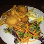 Seafood basket $10