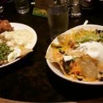 Chicken and nachos