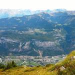 The Les Carroz plateau