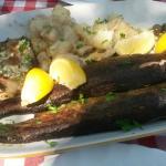 Рыбное блюдо на двоих