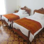 Antique beds with high tech modern mattresses