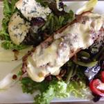 Salade de l été et café gourmand