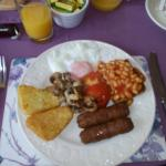 Vegetarian Full English - definitely worth trying!