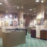 """""""Art of War"""" exhibit at George C. Marshall Museum July 2015"""