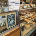 Vegan, gluten free, healthy options and fantastic coffee