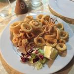 Calamari fritti! Che croccantezza!