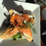 smokin salmon!