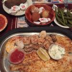 Seafood combo with sides!!