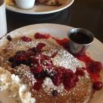 Pics of the food Iv had in the last month. Most incredible breakfast. Must try the pancakes