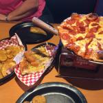 Absolutely LOVE Shakeys!!! The staff were friendly & the food was Great!!! We were NOT disappoin
