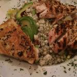 Chicken guacamole avocado salad