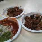 Boti Kebab and chutney
