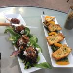 Pork Tenderloin Francaise and Kale & Orange Salad