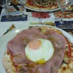 pizza champignon jambon fromage oeuf