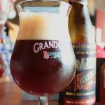Grand Cru ruby beer - yuk !