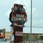 Bear Country Fun Park sign Pigeon Forge 2015