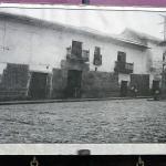Foto histórica de la casona colonial, hoy Hostal llipimpac - Cusco