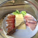 Assortiment jambon-fromage