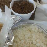 Goat & white rice