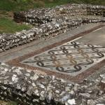 Out of doors exhibit - Rockbourne Roman Villa