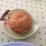 Pattis' freshly baked muffin