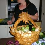 Il cesto dell'artista cuoco.